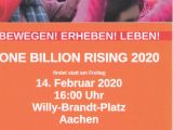 One Billion Rising 2020 in Aachen